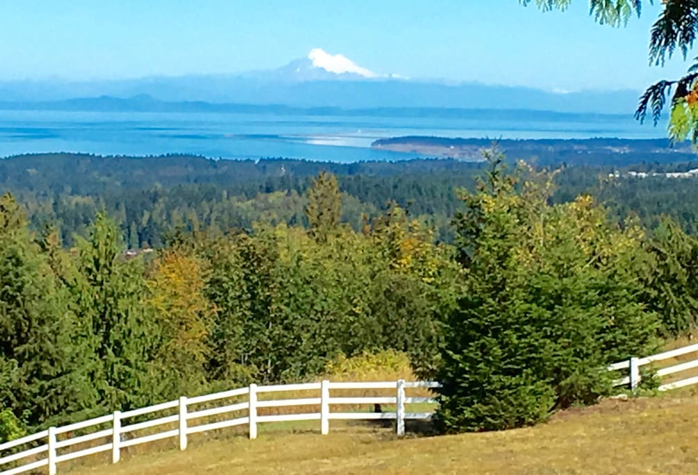 Mt Baker from the deck.