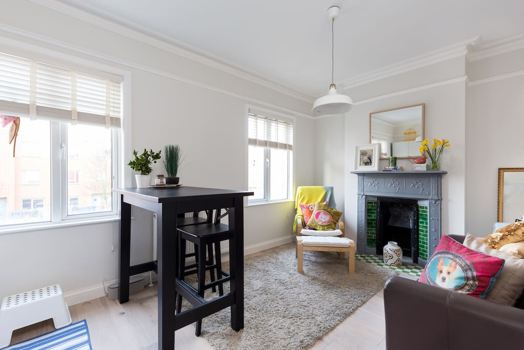Cosy kitchen/living room for those moments you want to relax
