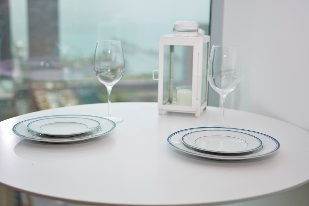 Enjoy breakfast with a $1,000,000 view.