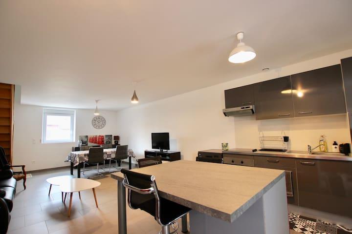 Appartement duplex proche frontière LUXEMBOURG