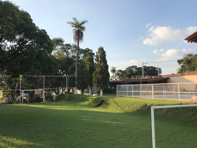 Exelente sítio para seu lazer! - Belo Horizonte - Cabin
