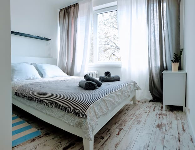 Cosy&White apartment in Daugavpils