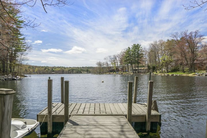 NEW TO MARKET! Amazing Lake Home!  You can't believe this home until you see!! Walk to Meredith Ctr