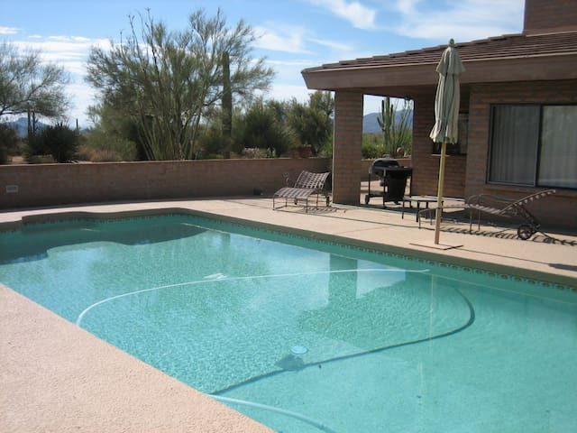 Take a deep dive into this pool.