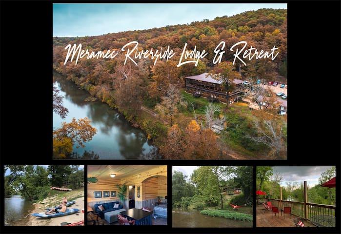 Tribal Room at Meramec Riverside Lodge & Retreat