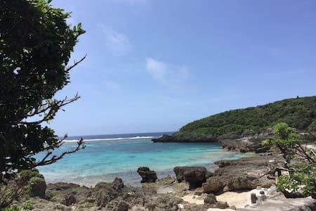 憧れの宮古ブルーの海を部屋から眺める。海まですぐの「シービュー・セルフリゾート宮古島 No6」 - Miyakojima-shi - Wohnung