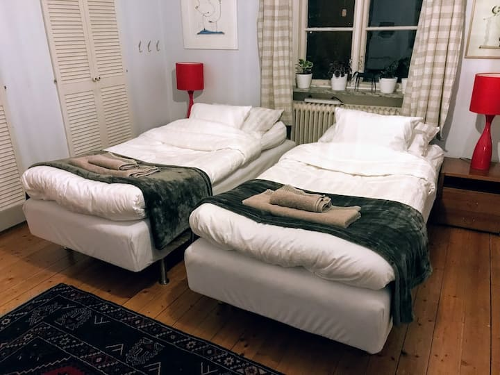 Double room at Björkkulla in Lund
