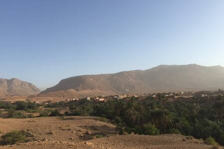 Marokko, Tinejdad, Hoge Atlas, Igoudmane - Tinejdad - 住宿加早餐