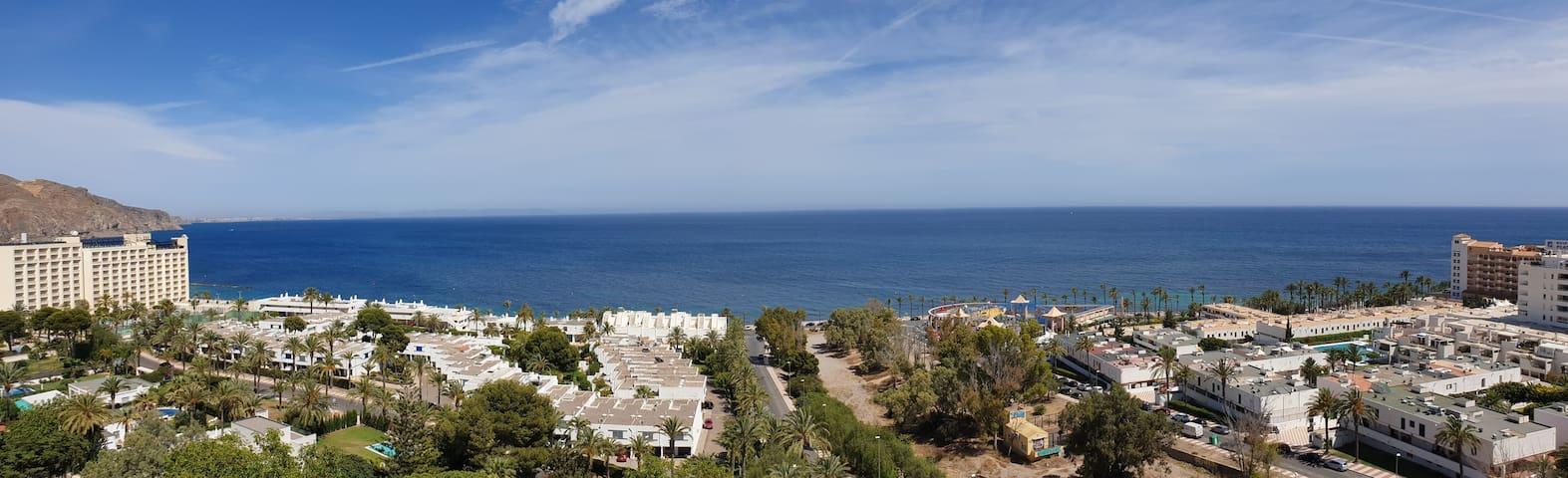Estudio en Aguadulce a 100m del Mar y el Cielo