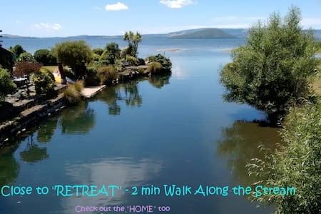 Quiet Sunny Retreat, Waiteti Stream - Rotorua - Pensione
