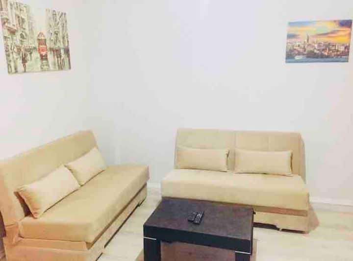1+1 Fully Furnished in The Center - Reliable&Clean