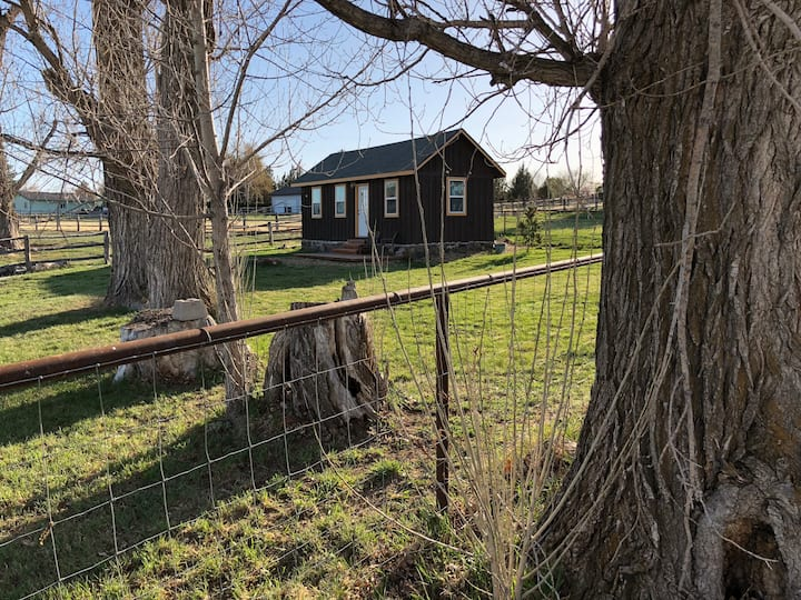 Historic cabin at Anker Farm