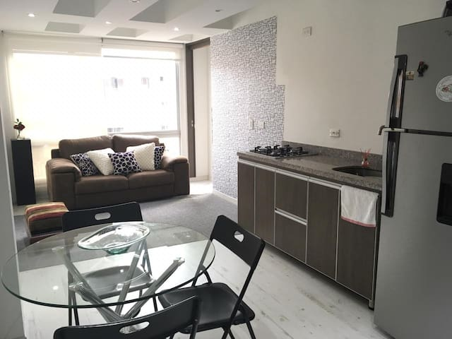 Full of light, 1 bedroom apartment in Bogota!