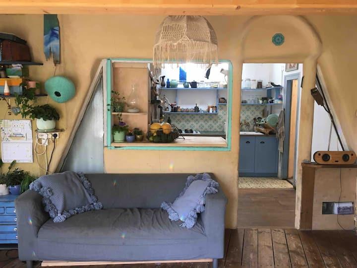 UNIQUE HOUSE VILLAGE SEA BEACH NATURE