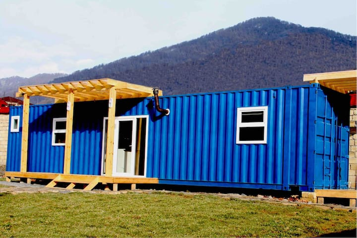 Cozy and Stylish Container House