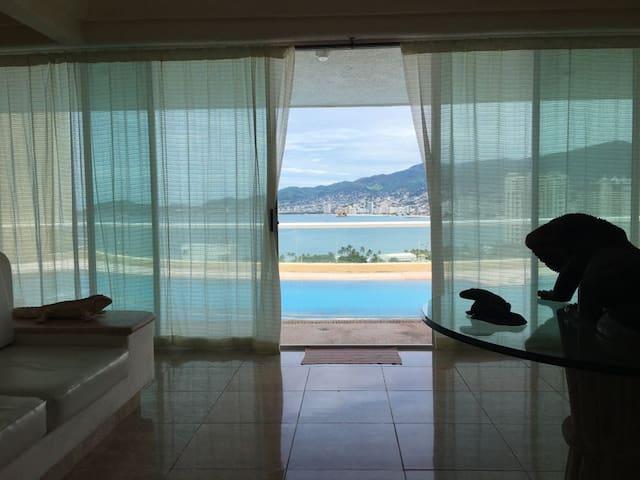 Casa de descanso Acapulco Gro en Joyas de Brisamar