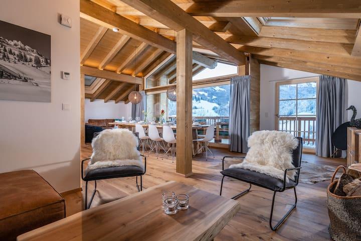 Luchs Lodge   Luxury   6BR&6baths   Sauna   Garden