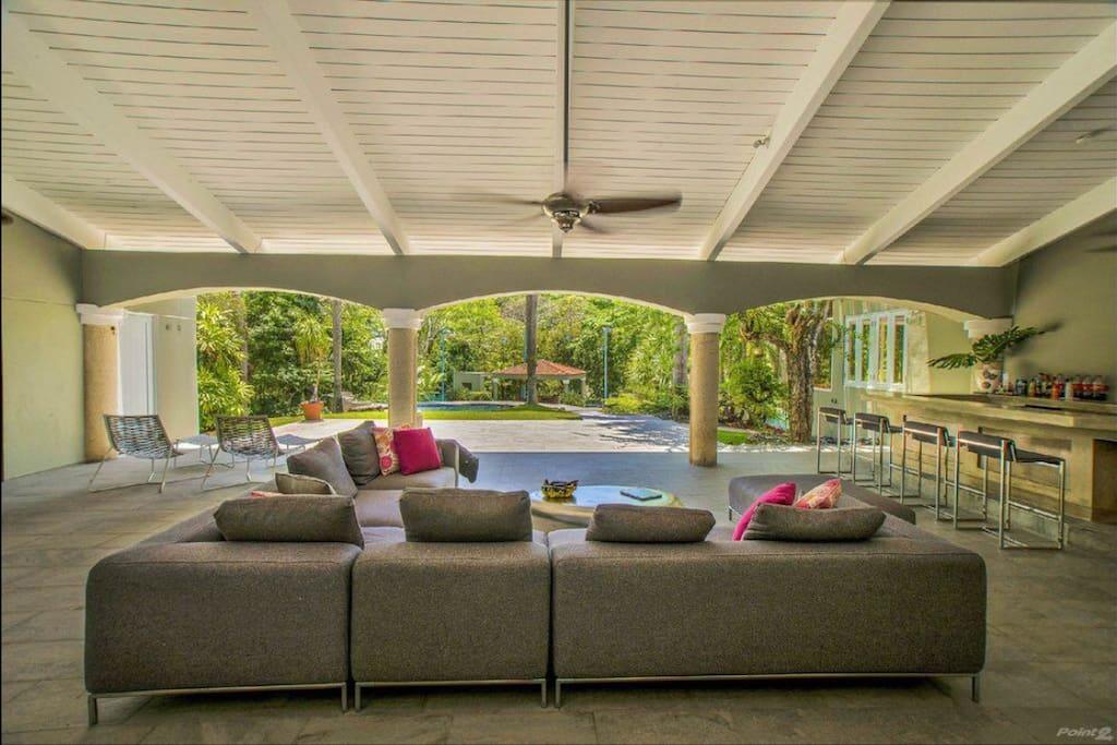 Pool Terrace and bar