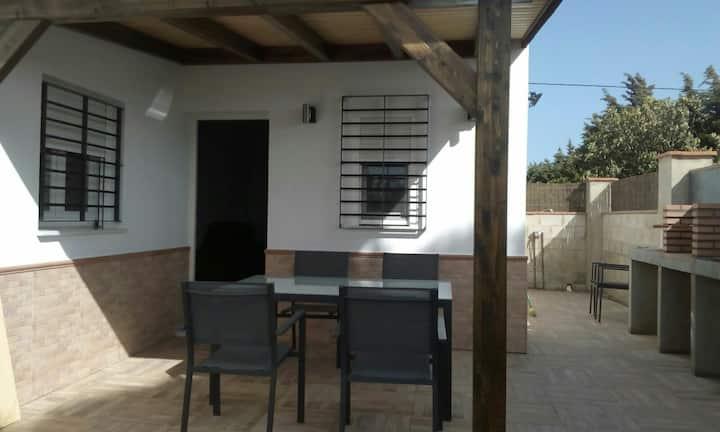Apartamento El Palmar a 500 metros de la playa.