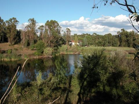 """""""Casa Paradiso"""" con un laghetto immerso nel verde"""