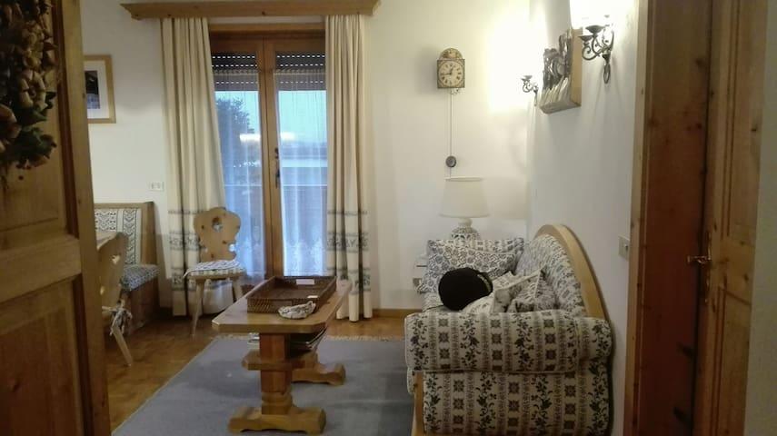 Accogliente trilocale con garage - San Vigilio - Apartment