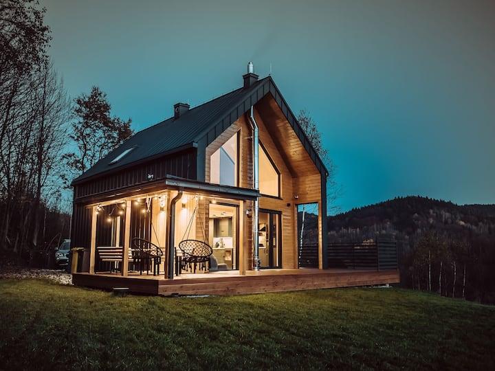 CzillChata - nowoczesna stodoła w Beskidach