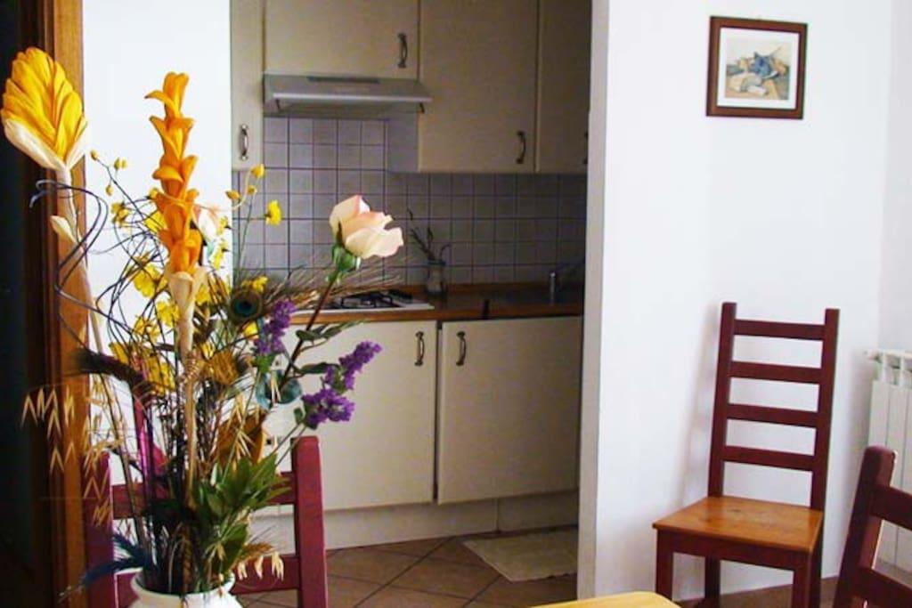 Kochecke cucina  Kitchen side