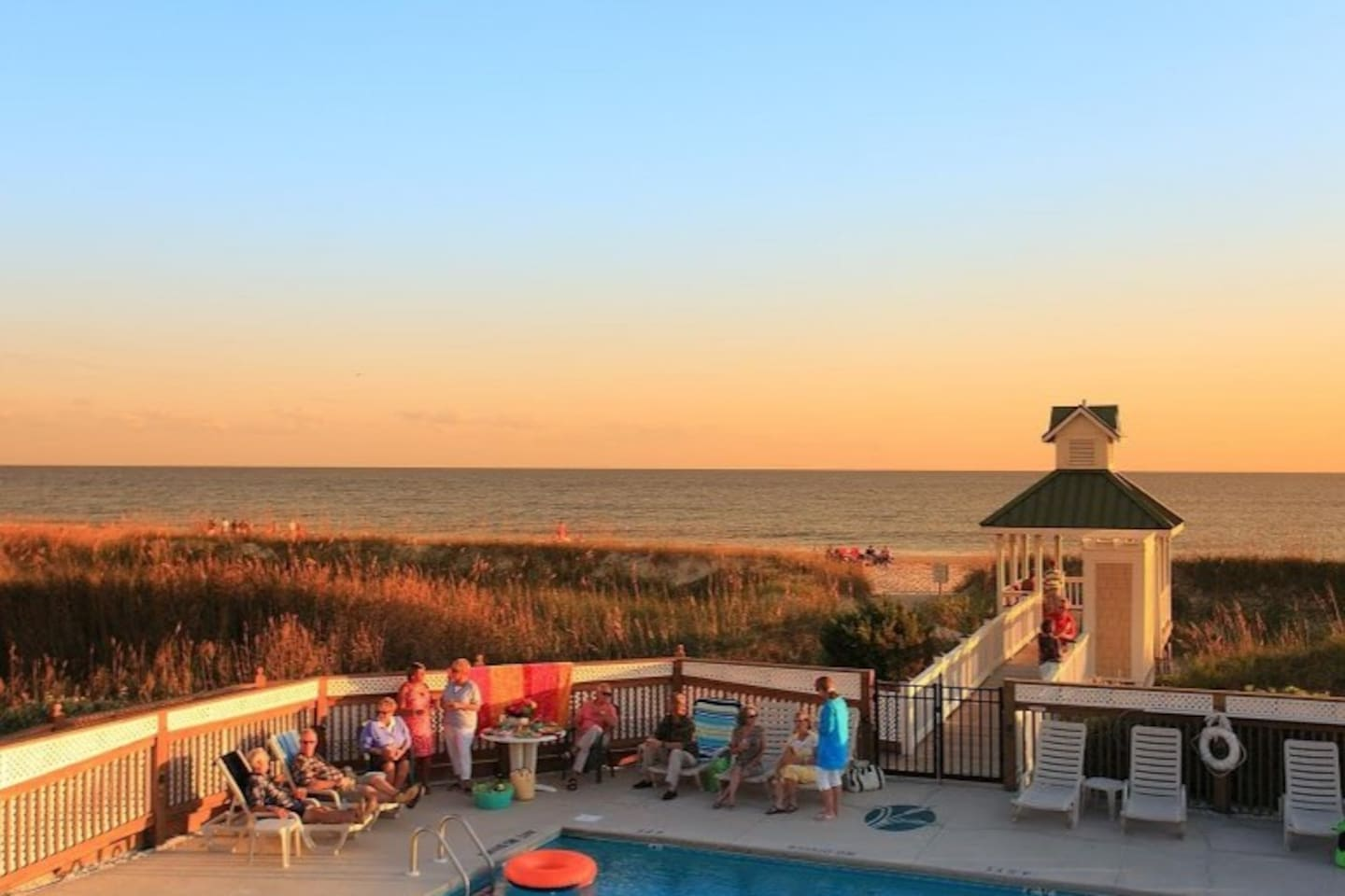 St. James Beach Club-located on Oak Island
