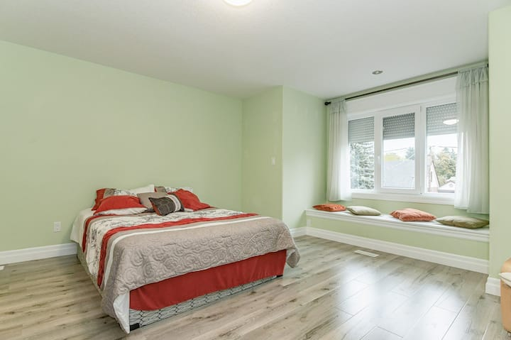 Luxury master bed room 2 of a newly built home