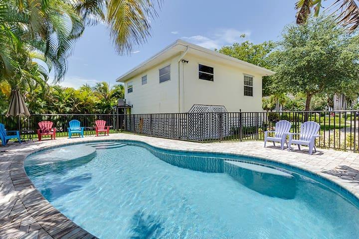 Moon Beach Cottage Pool & Pets OK - Fort Myers Beach - 獨棟