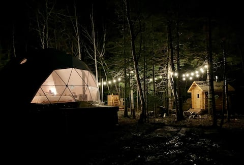 The Woodland Hive and Forest Spa