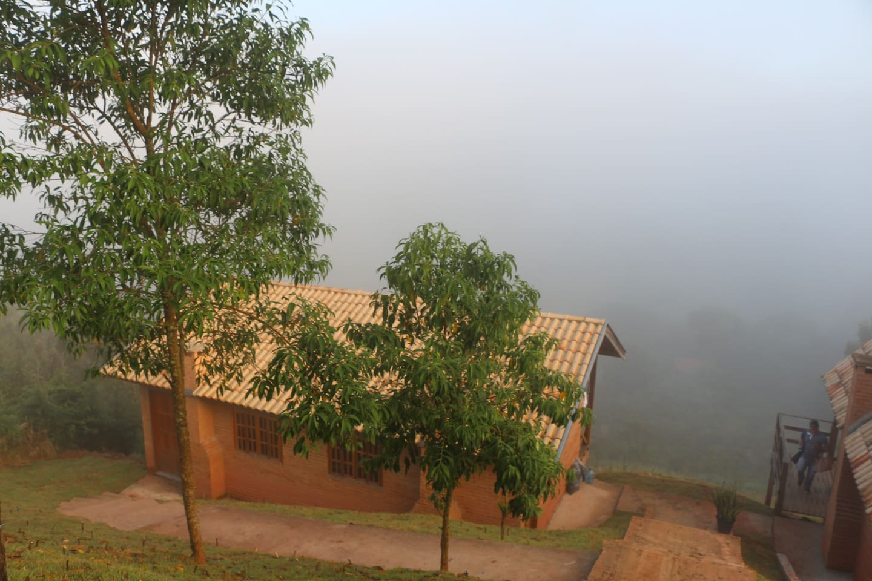 Visão da Serra em dia Nublado