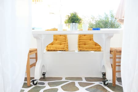 Charming apartment with balcony for 4 persons - Paros - Wohnung