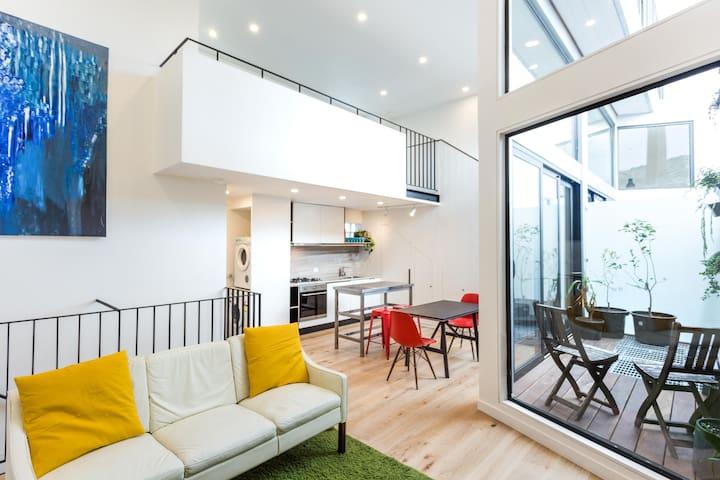 Loft Living in Bayside