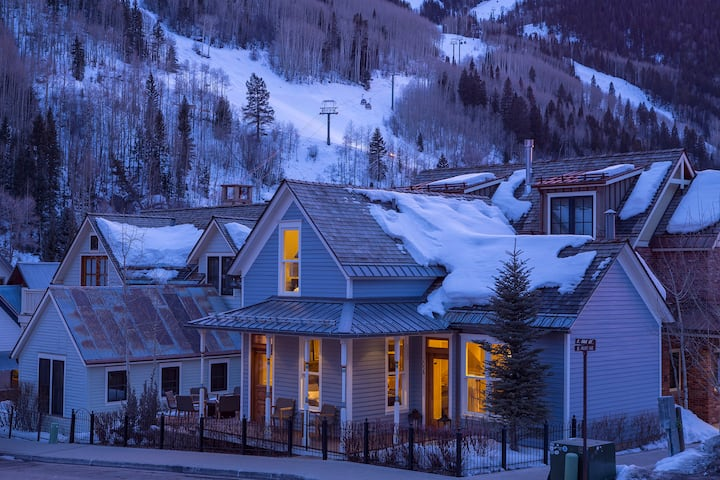 SOUTH OAK PEARL- Ideal Home, Downtown Telluride, LOCATION & HOT TUB