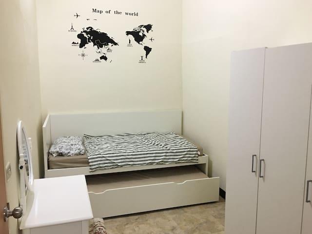 Cozy/Convenient private room in Taipei City
