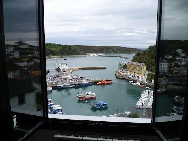 Apartamento con vistas al Puerto de Luarca