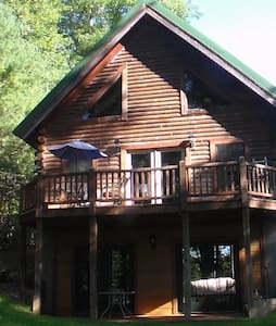 Log Home on Lake Hartwell- Private Basement Suite