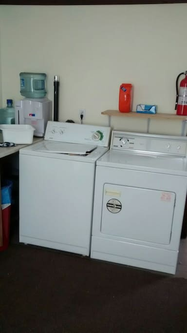 free washer and dryer use