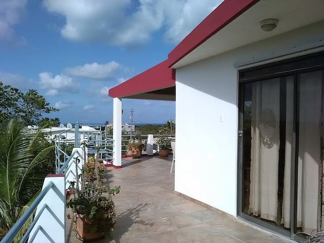Beautiful Bayview Studio Penthouse - Boqueron