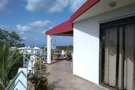 Beautiful Bayview Studio Penthouse - Boqueron - Apartamento