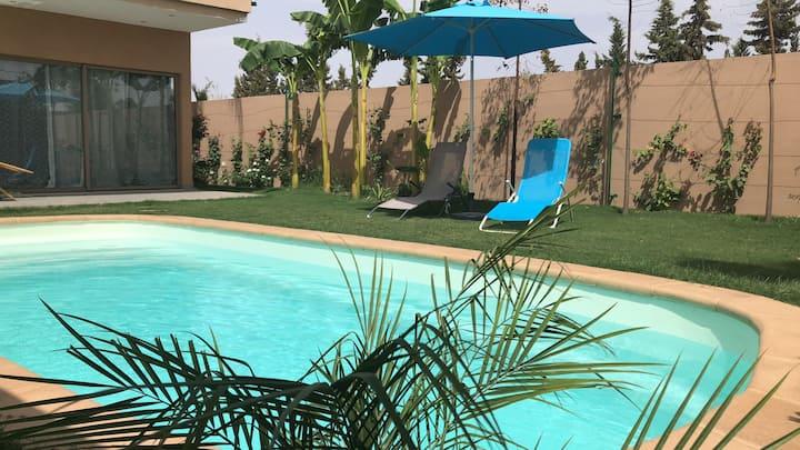 Villa privée avec piscine chauffée  sans vis à vis