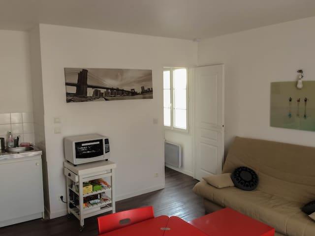 28 m² flat, al furnished on Nantes' island - Nantes - Huoneisto