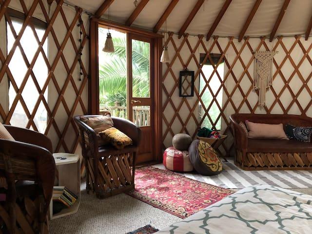 Silver Lake Yurt