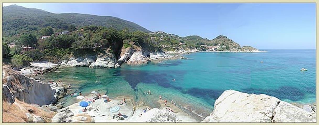 """Isola d'Elba Capo S.Andrea bilocale X3p """"Agave"""" - Zanca"""