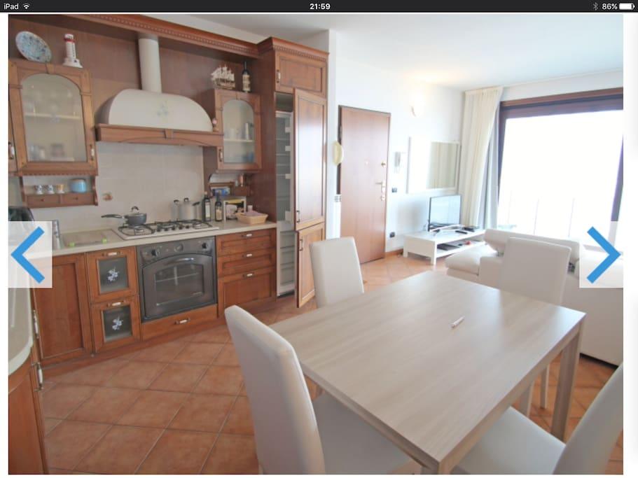 Kitchen,dining area