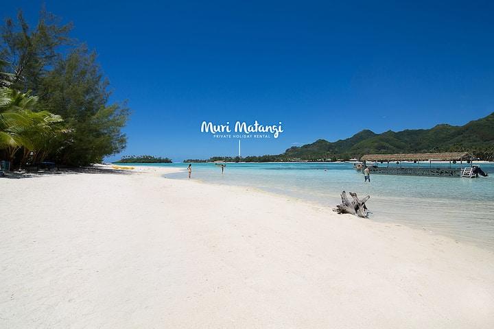 'Muri Matangi' Idyllic beachfront location