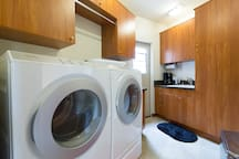 Utility Room: Full Size Washer & Dryer