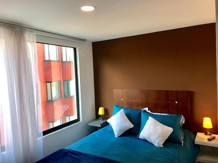 Hermosa habitación, hotel boutique