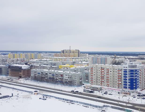 Квартира посуточно в г. Сургуте, по ул.Крылова, 26